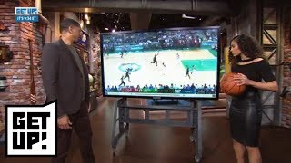 Jalen Rose and Skylar Diggins-Smith break down film from Cavaliers-Celtics Game 7 | Get Up! | ESPN
