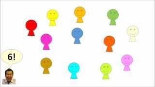 ไอซ์เบรค จับกลุ่มกันตามตัวเลข アイスブレイク_数字で集まろう Can-Do...