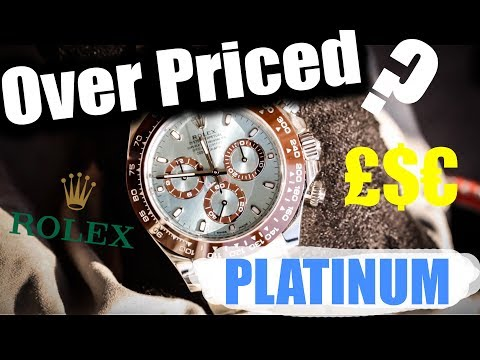 Platinum Watches - Are They Worth It?