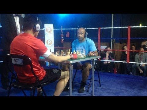 """Puñetazos y ajedrez, bienvenido a un ring de """"chess boxing"""""""