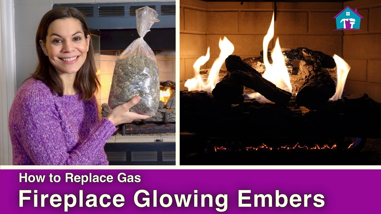 do you need glowing embers for your fireplace youtube