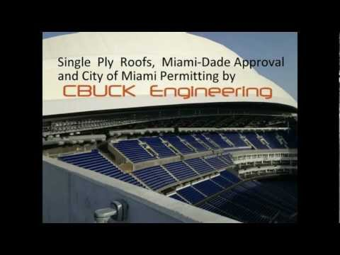New Miami MARLINS Ballpark Retractable Roof System - CBUCK Engineering