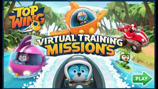 Top Wing Virtual Training Mission game! Full Top Wing Game! Top Wing Nick jr game!