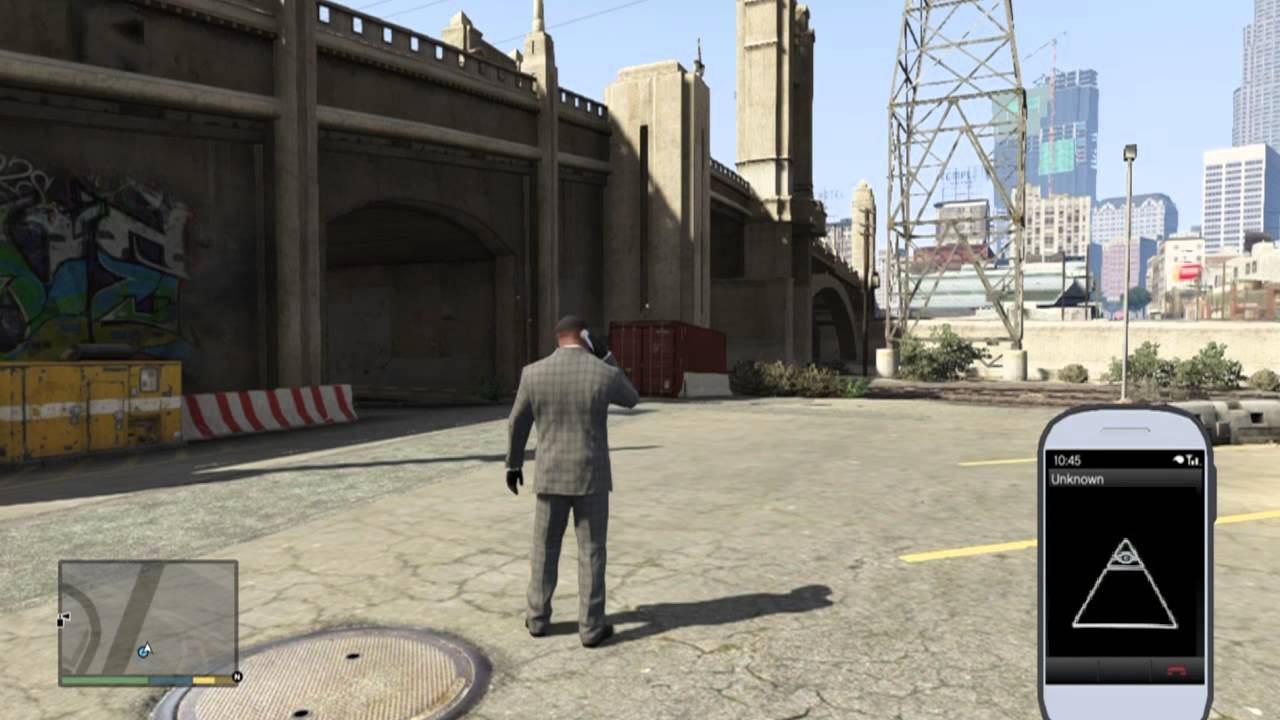 GTA 5 - How to join the Illuminati Easter Egg - Call the Illuminati in GTA  V (Xbox One | PS4 | PC)