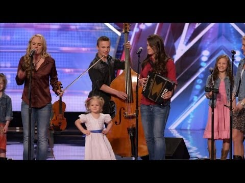 Thumbnail: America's Got Talent S09E02 The Willis Clan 12 Member Family Band Too Cute