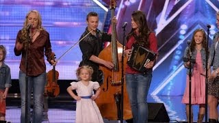 America's Got Talent S09E02 The Willis Clan 12 Member Family Band Too Cute