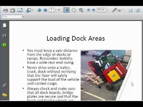Forklift Certification Test - How Hard Is Forklift Certification ...