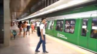 Metrô de Fortaleza-Ce estação Benfica METROFOR