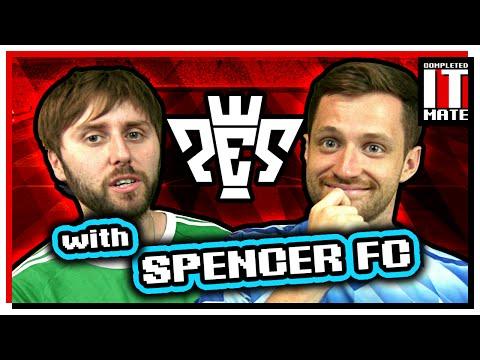 James Plays ProEvo With Spencer FC