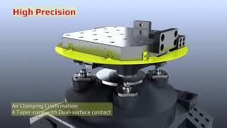 HS-500 Series Horizontal Machining Center.high speed horizontal machining centers.