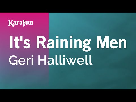 Karaoke It's Raining Men - Geri Halliwell *
