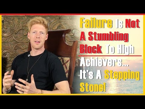 Success through Failure – Failure is part of success, fail well and fail your way to success.