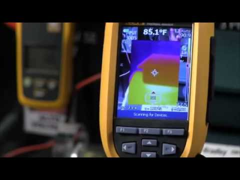 How To Connect A CNX Module Using A Fluke Thermal Imager