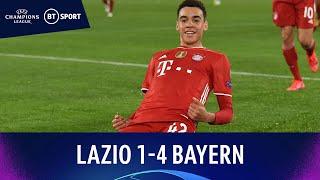 Lazio v Bayern Munich (1-4) | Youngster Musiala breaks English record | Champions League Highlights