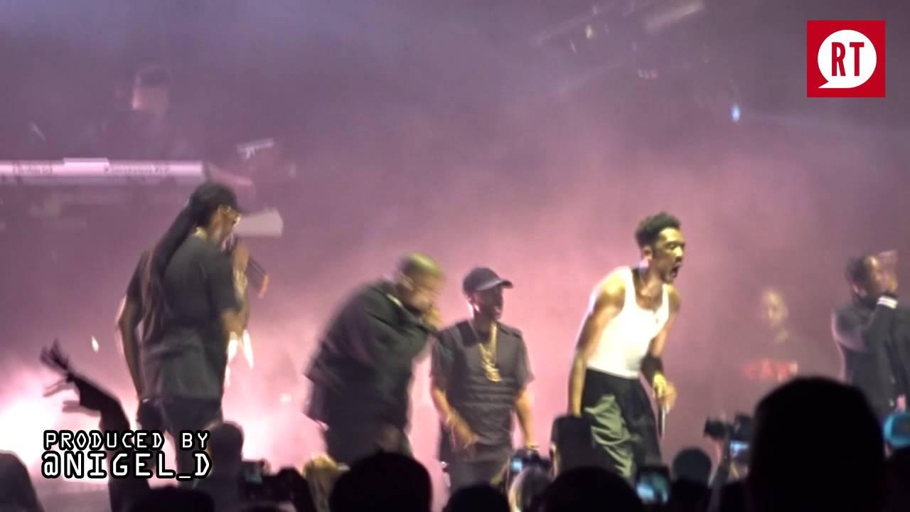 Kanye West And Desiigner Perform At Summer Jam 2016