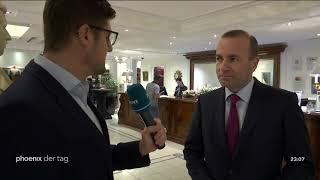 Interview mit Manfred Weber zu den Brexit-Verhandlungen am 17.10.18