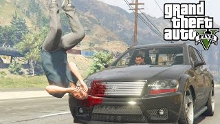 Getting Run Over GTA V