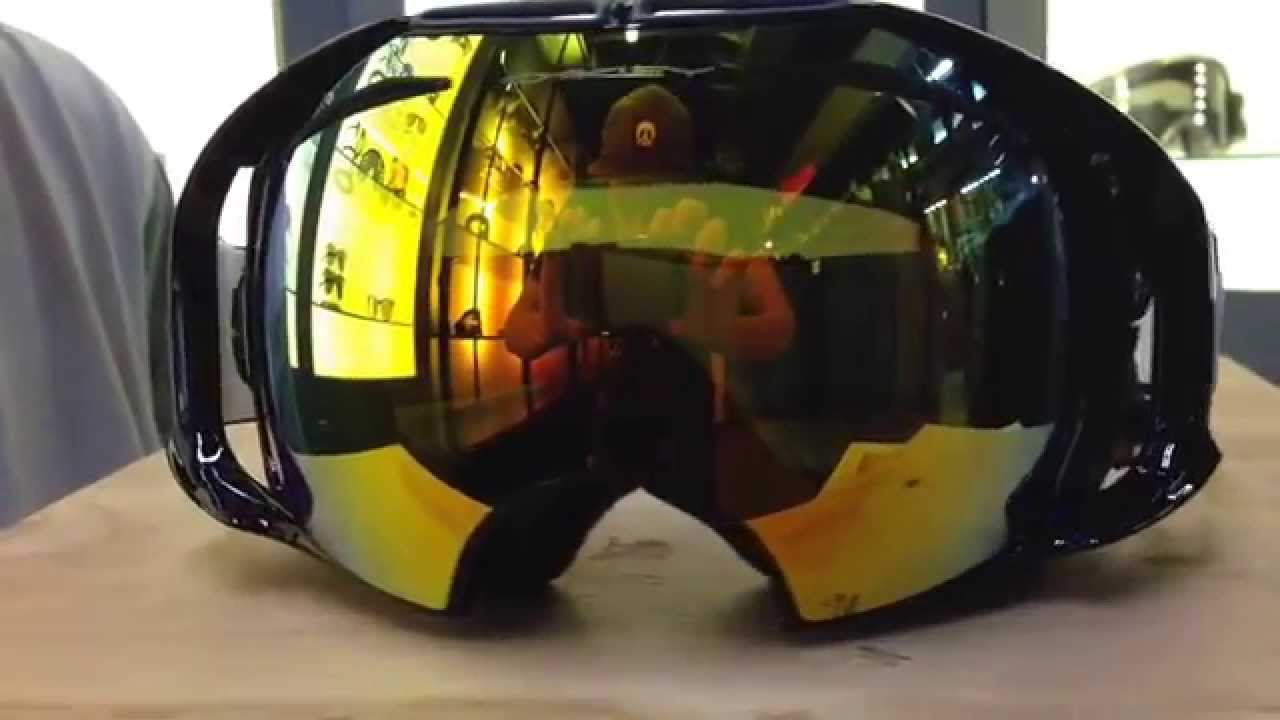 2015 Oakley Airbrake In Jet Black With Fire Lens Preview