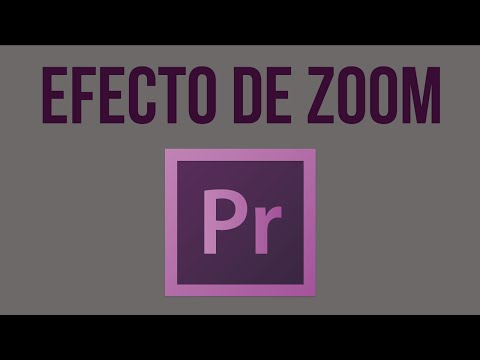 How to Make the Zoom Effect | Adobe Premiere