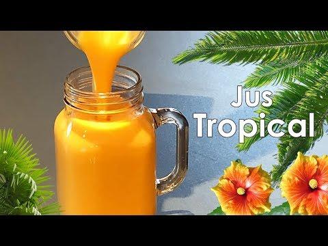 jus-tropical-healthy,-facile,-rapide,-délicieux!🌞