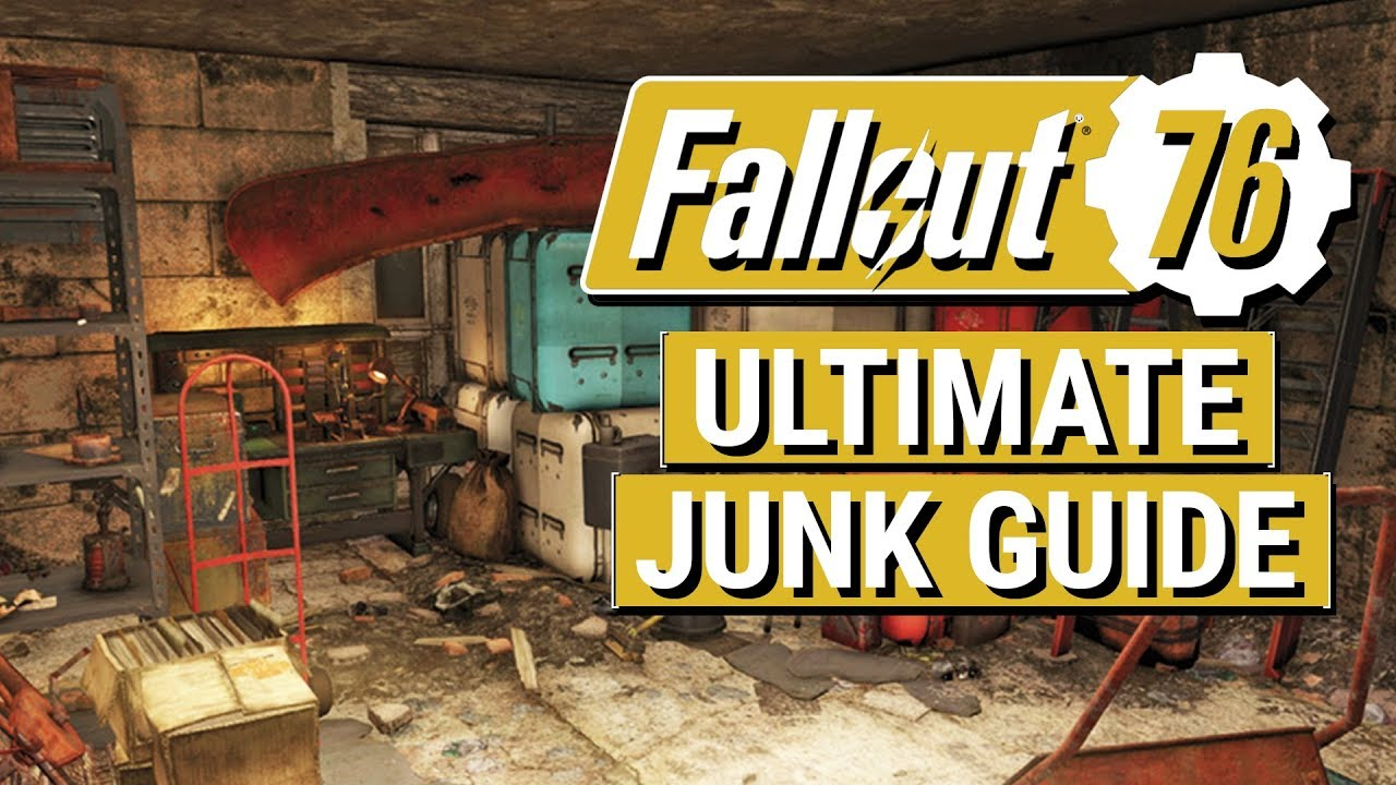 FALLOUT 76: The ULTIMATE Junk Guide!! (What You Should and Shouldn't Pick  Up in Fallout 76)