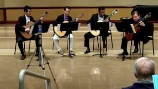 Live: Canon in D (Johann Pachelbel) classical guitar quartet