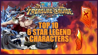 ONE PIECE TREASURE CRUISE - Top 10 Legend Characters