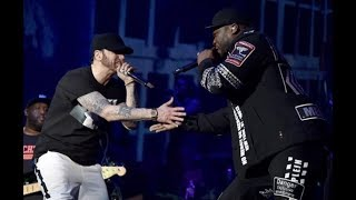 Eminem Brings Out 50 Cent at Coachella - Crowd Goes CRAZY! thumbnail