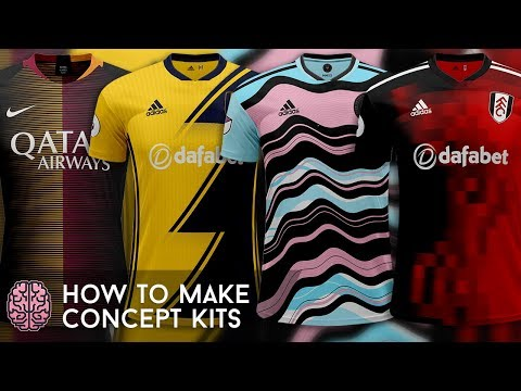 How To Create Football/Soccer Kit Concepts | Photoshop