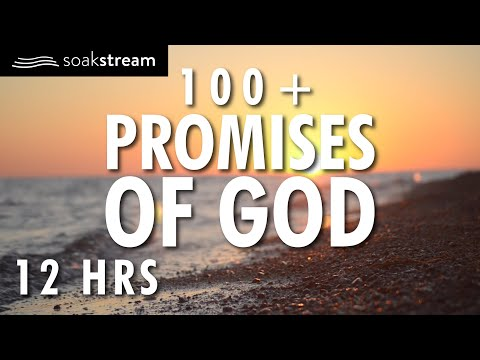 Gods Promises 3 | 100+ Healing Scriptures with Soaking Music | Audio Bible | 12 HRS (2020)
