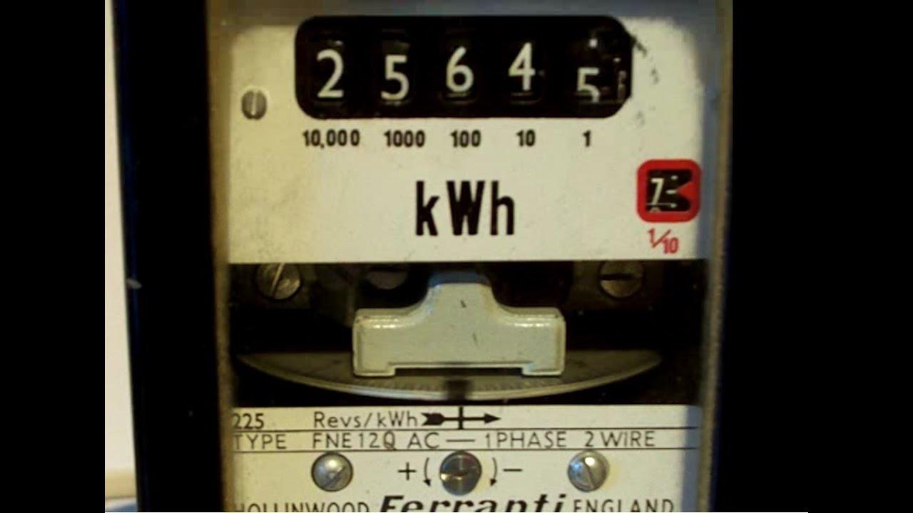 Digital Electricity Meter Working