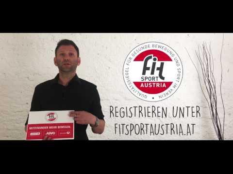 """""""Fit Sport Austria Qualitätssiegel"""" Video für Vereine"""