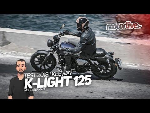 Keeway K Light 125 I Test Youtube