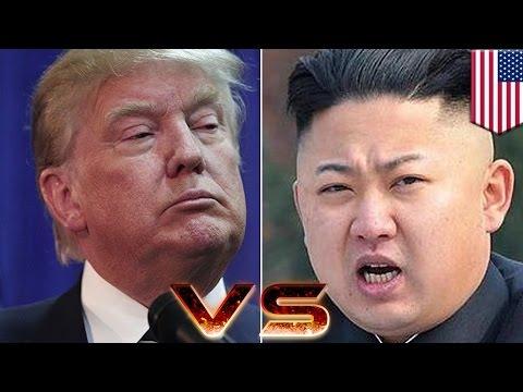 Kim Jong Un vs Donald Trump: US to test defenses against simulated North Korea attack - TomoNews