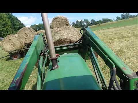 Hobby Farming - Hay Harvest With OLD Farm Equipment