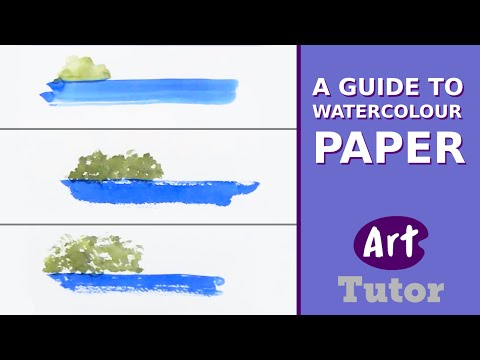 A Guide to Watercolour Paper