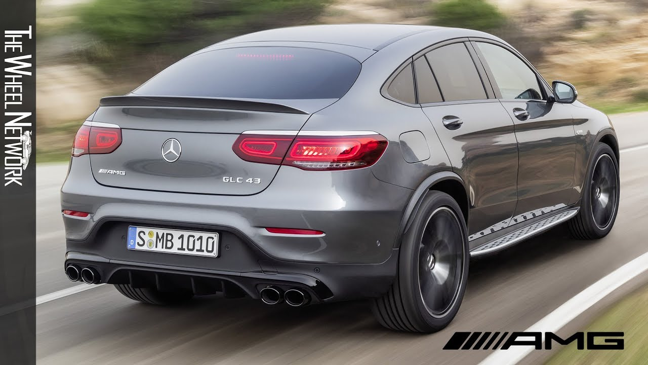 Glc 43 Amg >> 2020 Mercedes Amg Glc43 4matic Coupe Driving Interior Exterior