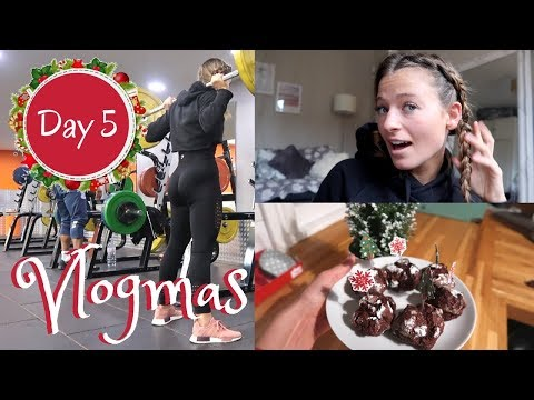 THE BEST BOOTY WORKOUT, DUTCH BRAIDS TUTORIAL & BAKING CHRISTMAS COOKIES