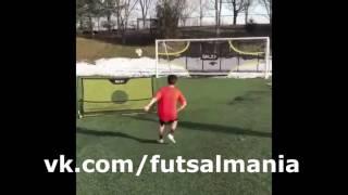 Уровень - футзал мини-футбол futsal skills goal tricks