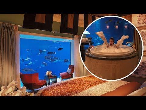 UNTERWASSER SUITE in Dubai - Soetwas habe ich noch nie gesehen 😳  | BibisBeautyPalace