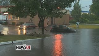 'Turn around, don't drown' in flooded areas