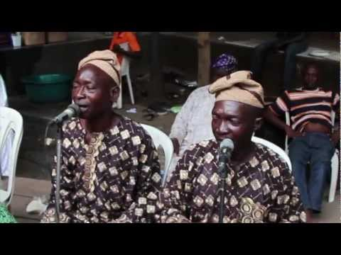 Live Sakara music at Animashaun Celebration 2013, Lagos Island, Nigeria