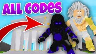 WE BECAME GODS - ALL CODES - Roblox God Simulator