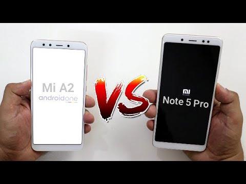 Mi A2 Vs Redmi Note 5 Pro Speedtest Comparison I Should You Upgrade To Mi A2 ?? I Hindi