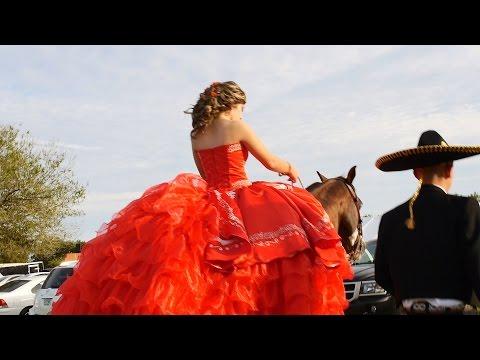 Fiesta de Quinceañera charra. Quinceañera vals, Viva Mexico.