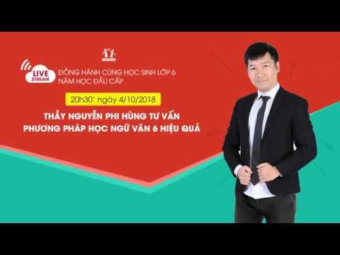 Tư Vấn Học Tập Ngữ Văn 6 - Thầy Nguyễn Phi Hùng - HOCMAI
