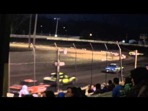 nielsen racing Algona Raceway 4-12-14