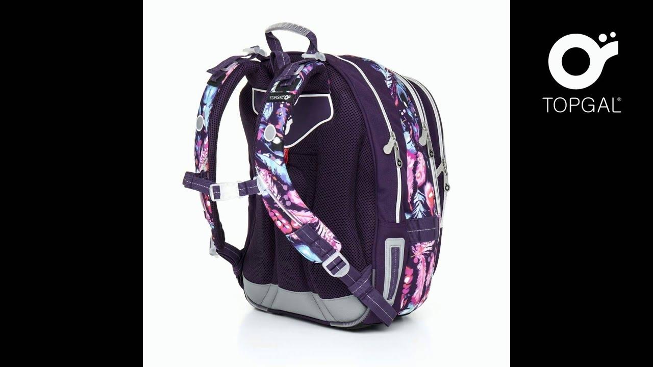 bc70fefcd1c55 Plecak szkolny Topgal model CHI 796 H - YouTube
