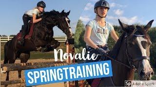 ERSTES Springtraining mit NEUEM PFERD Novalie 🤩🚀! - FMA am Stall mit viel Spaß🤪