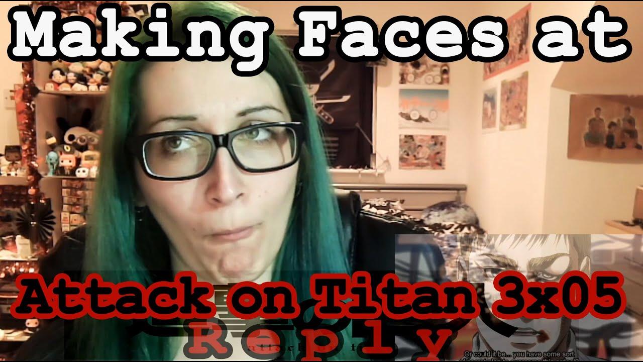 Attack on Titan 3x05 Reaction~ - YouTube